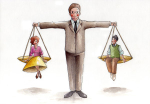 L'importanza della bigenitorialità